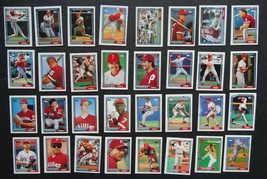 1992 Topps Micro Mini Philadelphia Phillies Team Set of 32 Baseball Cards - $4.99