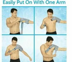 Arctic Flex Shoulder Ice Pack Brace - Cold Reusable Cool Gel Wrap, Hot Therapy