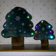 Creative Christmas LED Glowing Christmas Tree Pillow Plush Toys Children... - $10.06