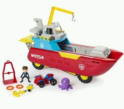 Paw Patrol Sea Patrol Nick Jr Christmas Gift Electric Flashing Lights So... - $84.11