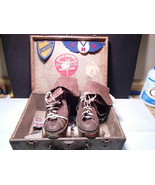 Rare Vintage Chicago Roller Skates ~ must see all info & carry case decals - $89.99