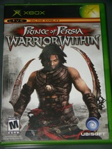 XBOX - UBISOFT - PRINCE OF PERSIA WARRIOR WITHIN (Complete with Instruct... - $8.00