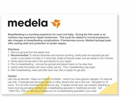 Medela Soothing Gel Pads for Breastfeeding, 4 Count image 2