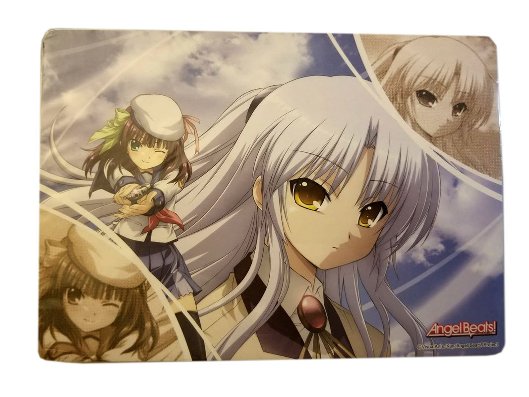 Angel Beats 35 Page Memo Mouse Pad Note Book * MOVIC * Anime