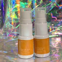 2x 7mL Discontinued NWOB Ole Henriksen Pure Truth Youth Activating Oil