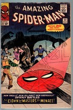 AMAZING SPIDER-MAN #22-1965-FIRST PRINCESS PYTHON-SILVER AGE-VG VG - $107.19
