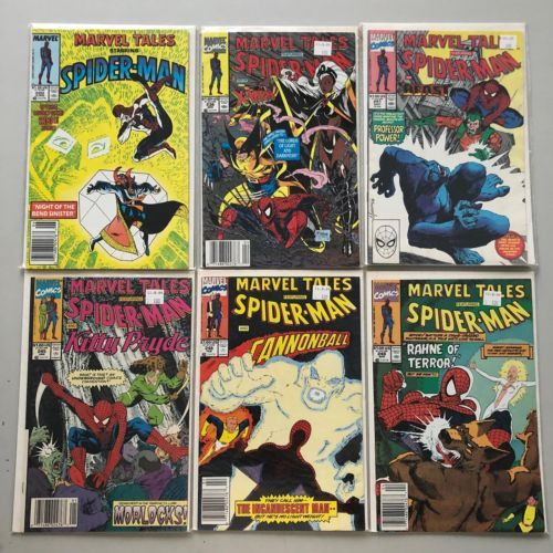 Lot of 11 Marvel Tales (1964 Marvel) from #200-290 VF Very Fine