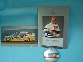 1987 MERCEDES  AMG SALES BROCHURE RACING JORG OMMEN - $19.98