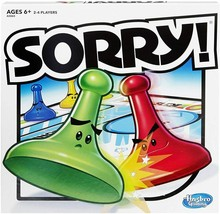 Sorry! Board Game For ages 6 and up - $23.35