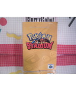 Pokemon Stadium Instruction Manual Booklet Nintendo N64 - $7.20