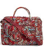 Vera Bradley Iconic Weekender Travel Bag, Carry On Luggage In Regal Pais... - $65.34