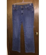 Women's NFL Cheerleader Boot Jeans 12L Indianapolis Colts - $14.95