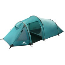 Outdoor Backpacking Tent Sleeps 2 Camping Blue All Season Extended Stay ... - $122.31