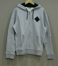 Timberland Men's Full Zipped Hoodie NEW AUTHENTIC Medium Grey A1OHN 052 - $59.99