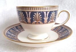 Wedgwood England BERESFORD Bone China Coffee Tea Cup and Saucer - $27.95
