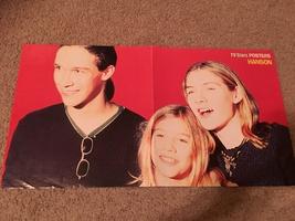 Hanson Backstreet Boys teen magazine poster clipping Tv stars Posters Bop