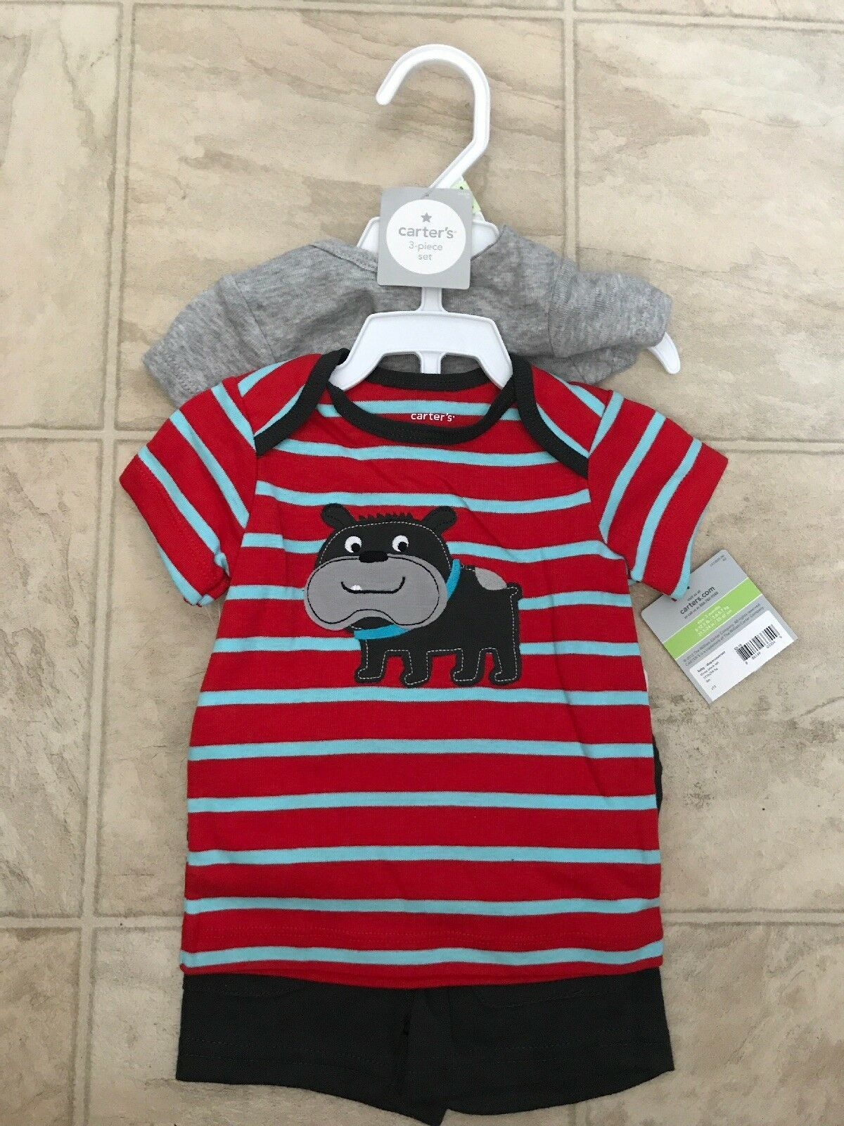 0bb141494 NWT Carters Baby Boys 3 Piece Short Sleeve and 12 similar items. S l1600