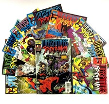 Webspinners Tales of Spider-Man Comic Book Lot Run Issues 1-10 VF NM Mar... - $17.77