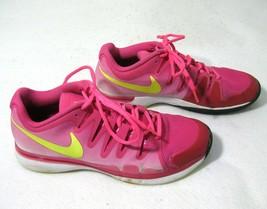 NIKE Zoom Air Vapor Tennis Women's Pink Fuscia Court Shoes (Size 9) Fitness - $24.50