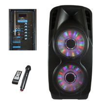 beFree Sound 2xs 12 Inch Woofer Portable Bluetooth Powered PA Speaker - $197.93 CAD