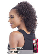 Model Model Drawstring Ponytail Curly Style Hair Extension - Hot Toddy Girl - $11.95