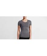Nike Women's Pro Cool Dri-Fit Training Top 725745 Dark Grey Large - $17.58