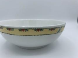 "GIBSON China Christmas Snowman Frolic 6"" Salad Soup Bowls - $6.00"