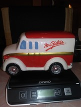Mrs Fields Red And White Delivery Truck Cookie Jar - $9.95