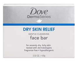 Dove Derma Series Dry Skin Relief Gentle Cleansing Face Bar Soap 2 pack-... - $7.02