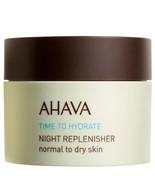 Ahava Night Replenisher Normal to Dry 1.7 oz  - $45.21