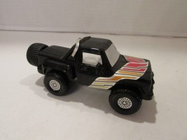 AVON RUGGER AFTER SHAVE 3 FL OZ BLACK TRUCK W/DECALS SOME CONTENTS - $2.92