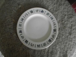 Royal Doulton Tapestry bread plate (worn gold trim) 4 available - $1.83