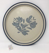 "Pfaltzgraff ""Yorktowne"" Serving Tin / Metal Tray -1985 - 13 5/8"" Diameter - $15.99"