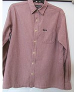 ABERCROMBIE & FITCH CHECK SHIRT 100% COTTON L/S W/FINISHED BOTTOM MEN'S L - $29.91