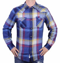 NEW LEVI'S MEN'S CLASSIC DATSUM TWILL LONG SLEEVE SHIRT TOTAL ECLIPSE 3LDLW1541