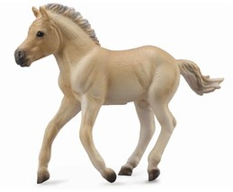 <><  Breyer CollectA 88592 Fjord horse Foal brown dun  -  exceptional - $5.85