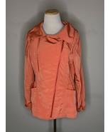 St. John Womens Jacket Full Zip Pink Grapefruit Lightweight Coat Sz S NWT - $89.95