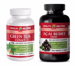 weight loss natural vitamins - GREEN TEA – ACAI BERRY COMBO 2B - green t... - $22.40