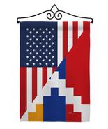 Republic of Artsakh US Friendship - Impressions Decorative Metal Wall Ha... - $27.97