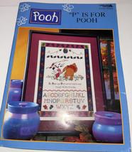Pooh Cross Stitch Pattern Book Disney Home Bear Tigger #3089 Leisure Arts Craft - $11.88