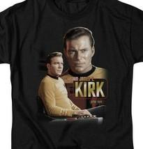 Star Trek Captain James T. Kirk Retro Science Fiction graphic t-shirt CBS572 image 2