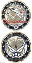 AIR FORCE THUNDERBIRDS MILITARY JET CHALLENGE COIN - $16.24