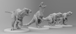 UNTAMED TYRANNOSAURS Stl File Download Guide - $4.94