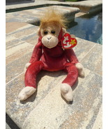 TY Beanie Baby Babies Schweetheart the Monkey Ape Retired Collectible 1999 - $3.50
