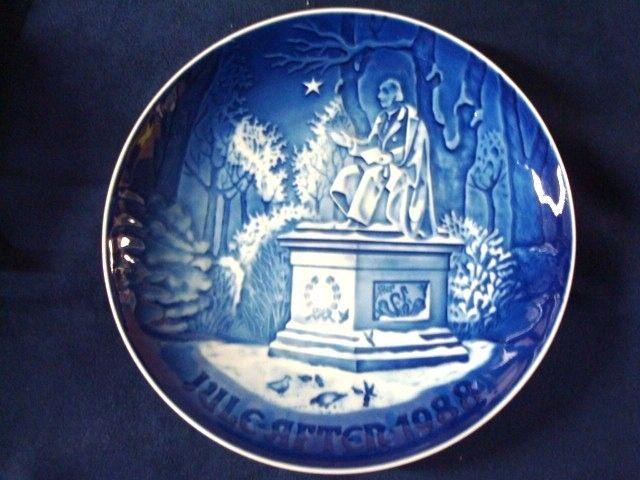 Bing /& Grondahl Christmas Plate 1988