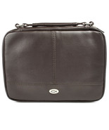 Two-fold Brown Faux Leather Bible Cover/Organizer Large NEW 9 1/8x 6 1/2... - $35.02