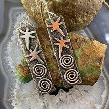 Alex Sanchez Sterling Silver Petroglyph Earrings - $300.00
