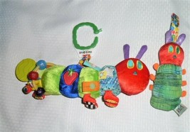 The Hungry Caterpillar Baby Infant Ring Link Clip On Toys Rattle Chime Loy - $34.64