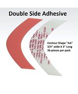 Duo Tac Tape Shape AA Double Side Adhesive 36-pcs per pack - $9.95