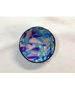 Bowl Small Keepsake Trinket Dish Handmade Polymer Clay Multicolored Ring... - $18.00